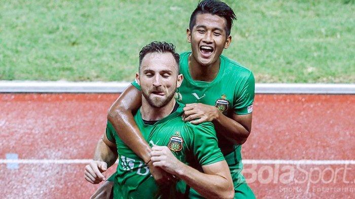 Bhayangkara FC Juara Liga 1 2017, Spaso Takjub Cetak Gol Hat-trick