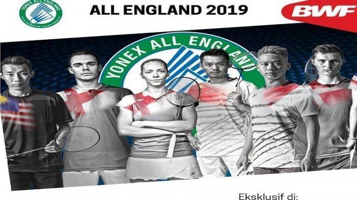 Jadwal Live All England 2019, Siaran Langsung TVRI Mulai 16.00 WIB Sore Ini, Ada Marcus/Kevin!