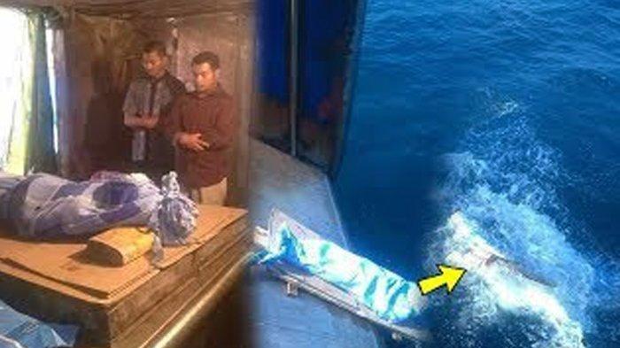 VIDEO: Viral, Jenazah Pria Asal Indonesia Disalatkan Lalu Dibuang ke Laut