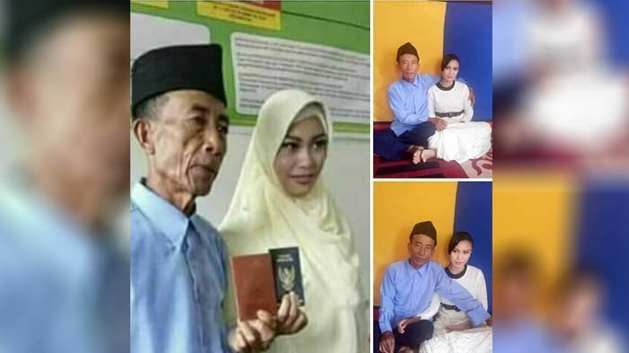 Kakek 60 Tahun Nikah dengan Gadis 17 Tahun, Kisah Cintanya Mirip di FTV