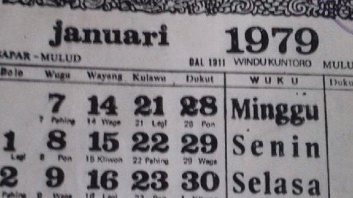 Kalender Tahun 2018 Sama dengan Tahun 1979, Ini Buktinya