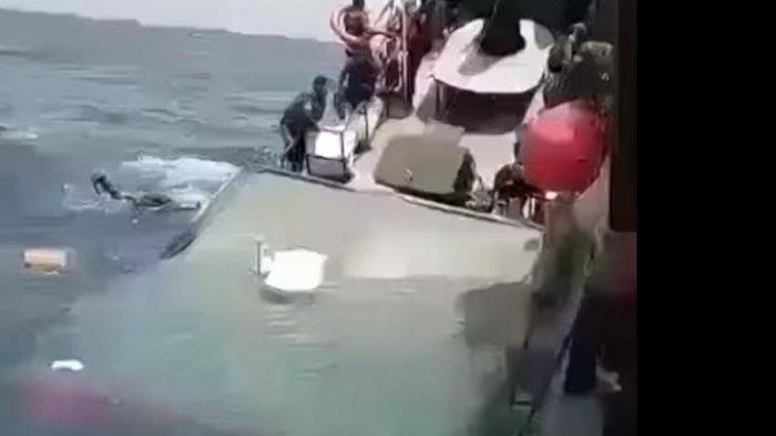 Kapal TNI Dihantam Ombak dan Tenggelam, Begini Nasib 60 Prajuritnya