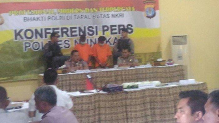 4,3 Kg Sabu dari Malaysia Digagalkan Saat Masuk Nunukan