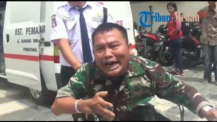Kapten Leo Ngamuk Depan Kantor BPJS, Tolong Saya Pak Presiden, Saya Tak Dilayani Dengan Baik