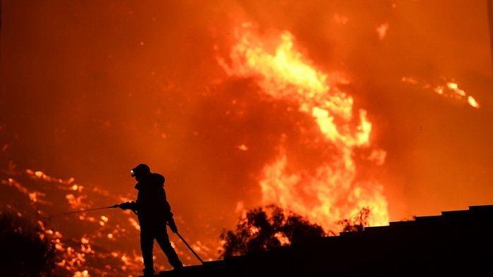 VIDEO: Kebakaran Hebat Los Angeles, Karma Pernyataan Trump Soal Yerusalem?