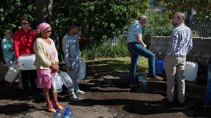 Ibu Kota Afrika Selatan Kesulitan Air, Penduduknya Bakal 'Dijatah' 25 Liter Per Hari
