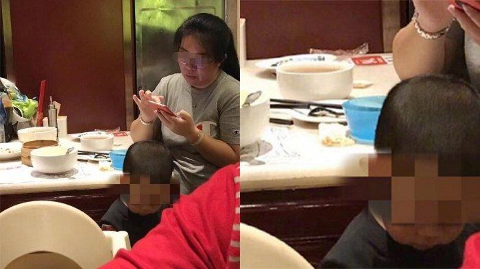 Terlalu! Ibu Ini Suruh Anaknya Buang Air Kecil di Mangkuk Restoran