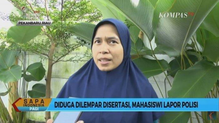 Rektor Lempar Disertasi 250 Halaman, Komala Sari Lapor Polisi