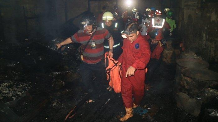 6 Korban Tewas Terpanggang Saat Kebakaran Melanda Samarinda Selasa Dinihari Tadi