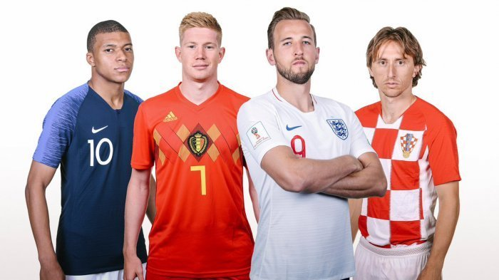 Pemain-pemain Ini Bakal Absen di Semifinal Piala Dunia 2018