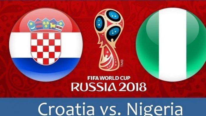 Gol Bunuh Diri Bawa Kroasia Unggul 1-0 di Babak Pertama Lawan Nigeria