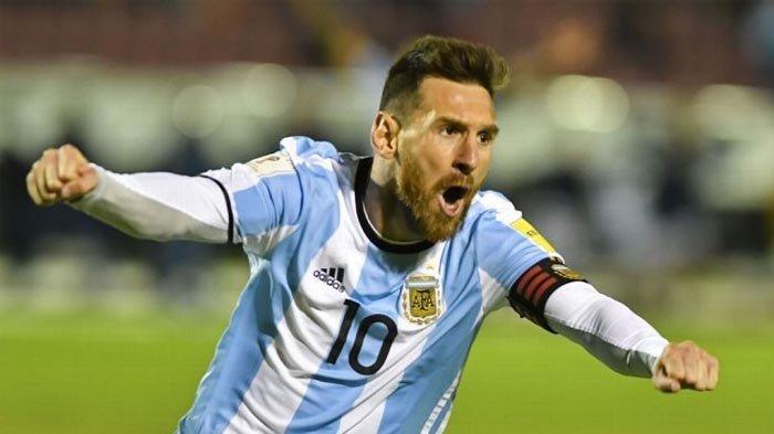VIDEO: Cuplikan Gol Hat-trick Lionel Messi Loloskan Argentina ke Piala Dunia
