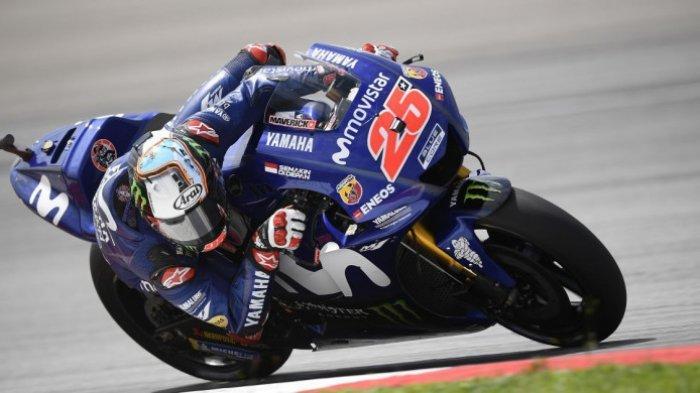 Maverick Vinales Juara di MotoGP Emilia Romagna 2020, Quartararo Dapat Penalti