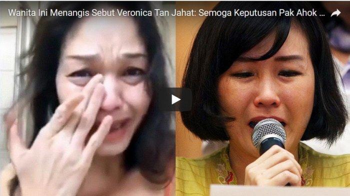 VIDEO: Sebut Veronica Berkhianat dan Jahat, Wanita Ini Menangis