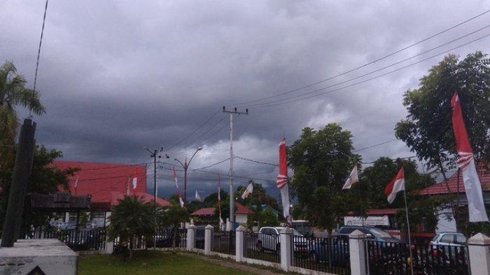 Kota Palangkaraya Bakal Diguyur Hujan Ringan Hingga Sedang pada Siang dan Malam Hari Ini