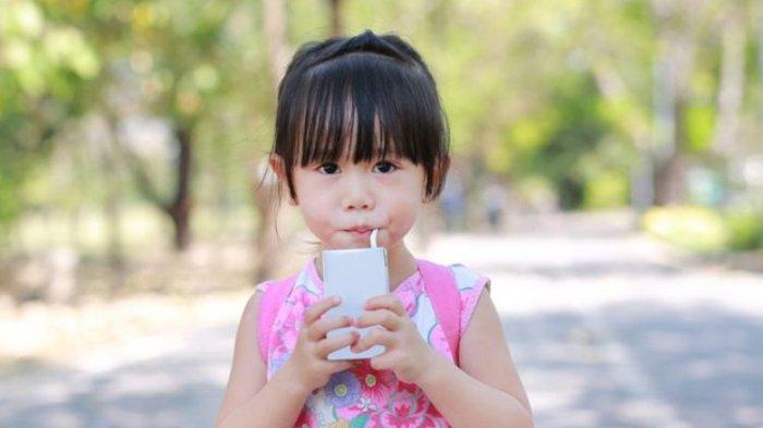 Bunda, Waspadai Minuman Anak Berkafein, Berbahaya Lho!