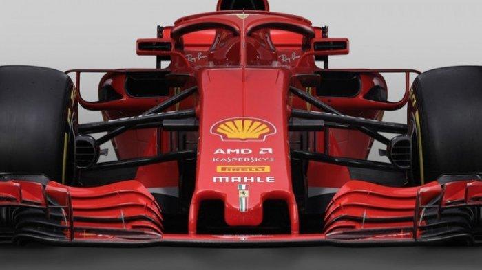 Begini Penampakan Mobil Ferrari di Ajang F1 Musim 2018