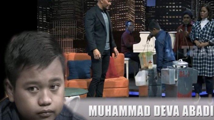VIDEO: Kisahnya Viral, Bocah Penjual Bakso dari Tabalong Diundang ke Acara Hitam Putih