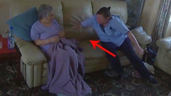 VIDEO: Perawat Pukuli Nenek Pikun, Lihat Ulahnya yang Bikin Keluarga Geram