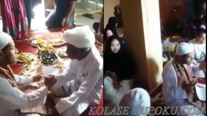 VIDEO: Bikin Baper! Kakek 77 Tahun Nikahi Gadis Usia 17, Ini Ijab Qobulnya!
