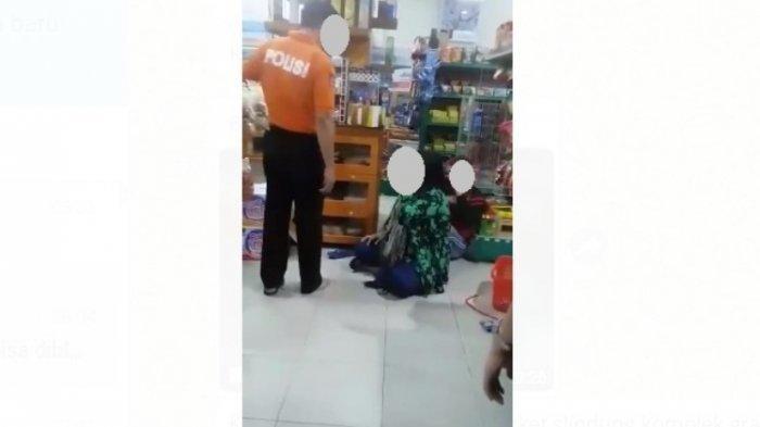Viral Video Oknum Polisi Polda Babel Aniaya Ibu dan Bocah, AKBP MY Ternyata Pemilik Mini Market