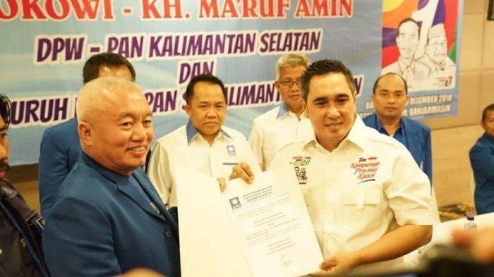 Resmi Dicopot dari Ketua DPW PAN Kalsel karena Dukung Jokowi-Maruf, Muhidin: Belum Tahu!