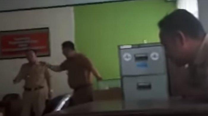 VIDEO: Wakil Wali Kota Nyaris Adu Jotos dengan Kadis Tata Kota, Videonya Beredar