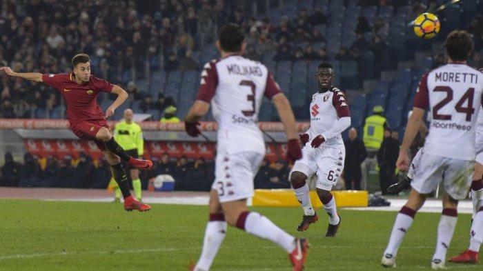 VIDEO: Cuplikan Gol AS Roma Saat Taklukkan Torino di Kandang