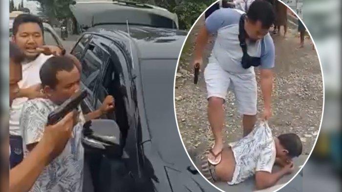 VIDEO: Penangkapan Sindikat Narkotika Malaysia, Terdengar Letusan