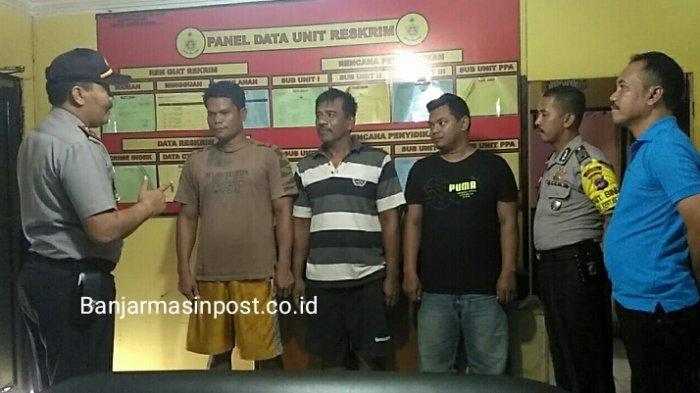Sembunyi di Pulangpisau, Begini Akhir Pelarian Komplotan Pencurian di Citra Land