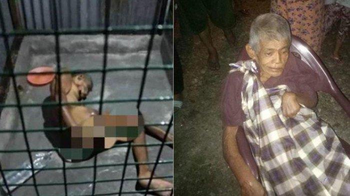 Kakek Penderita Stroke Ini Hidup Terasing di Ruangan Mirip Kerangkeng, Fotonya Viral di Medsos