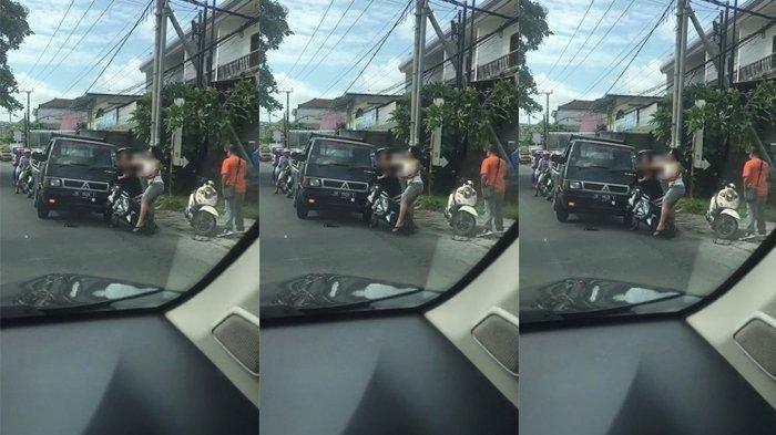 Warga Dihajar Anggota Ormas di Denpasar Gegara Tolak Pasang Bendera Parpol, Videonya Viral di Medsos