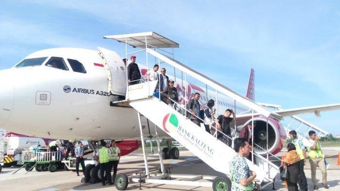 Sepi Penumpang Akibat Harga Tiket Mahal, Dua Pesawat Istirahat Beroperasi di Tjilik Riwut