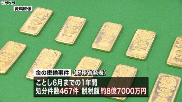 Penyelundupan Emas Bikin Pusing Pemerintah Jepang, Ternyata Begini Modusnya