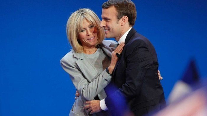Usia Istrinya Lebih Tua 24 Tahun, Kisah Cinta Presiden Prancis Ini Jadi Drama Romantika