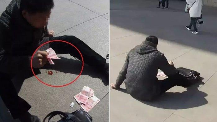 VIDEO: Nyawa Pria Ini Selamat karena Aksi Sawer Ala Bu Dendy, Lihat Videonya