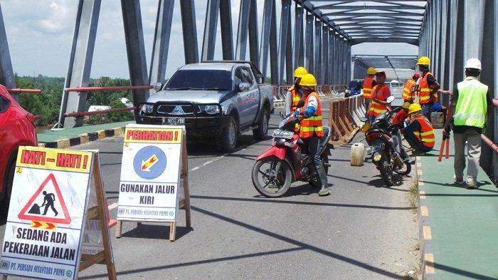 Lewat Jembatan Pulau Telo Kapuas, Angkutan Sembako Bisa Ditoleransi Hingga 50 Persen