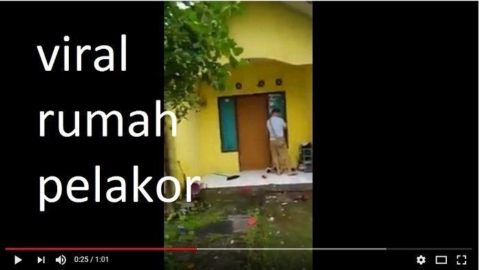 VIDEO: Rumah Pelakor Didatangi Istri Sah, Dilempari Uang, Sang Suami Hanya Bisa Begini