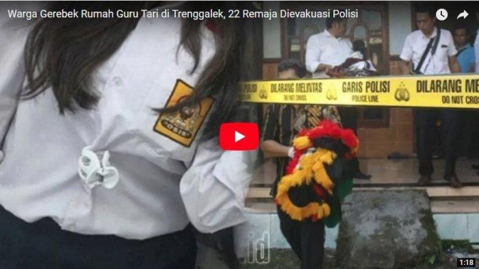 VIDEO: Heboh Seks Bebas, Warga Gerebek Rumah Guru Tari Digerebek Warga, 22 Remaja Dievakuasi
