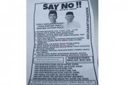 Setelah Geger Tabloid Indonesia Barokah, Kini Muncul Selebaran Kampanye Hitam Serang Pasangan 01