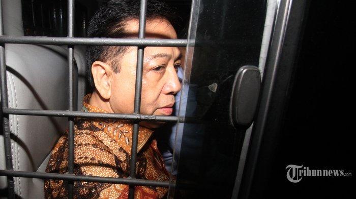 Setya Novanto Dipantau 350 CCTV, Tak Boleh Dikunjungi Selama Satu Bulan
