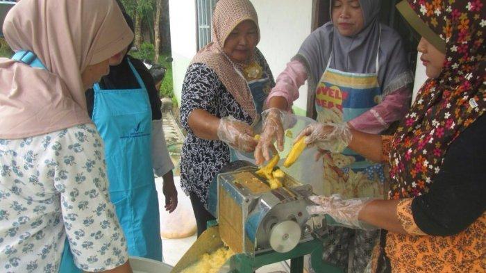 Kades Bungai Jaya Berharap Ada Pabrik Pengolahan Nenas Madu Kalengan di Basarang