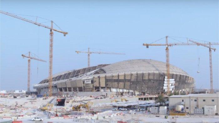 VIDEO: Proses Pembangunan Konstruksi Al Wakrah, Stadion Piala Dunia 2022 di Qatar