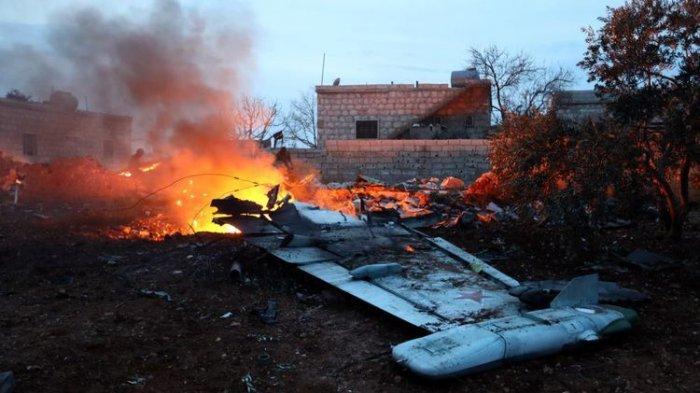Pemberontak Tembak Jatuh Pesawat Sukhoi Milik Rusia, Pilot Terbunuh