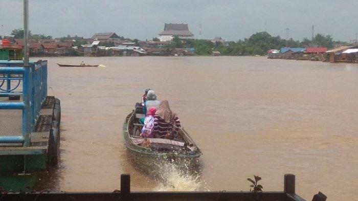 KaltengPedia: Sungai Kahayan Penghubung Sejumlah Kabupaten Bermuara di Laut Jawa