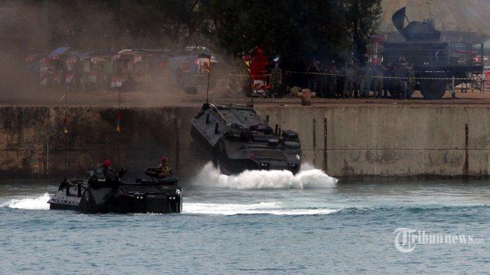 Bawa Anak TK, Tank Amphibi TNI Tenggelam di Sungai, Dua Orang Dikabarkan Meninggal