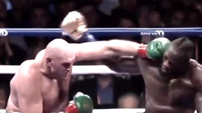 BERLANGSUNG Live Indosiar Tyson Fury vs Deontay Wilder, Gypsy King Roboh Dua Kali di Ronde 4