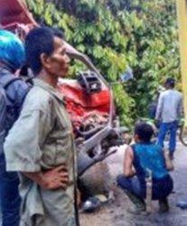 Dua Truk Tabrakan Banteng di Trans Kalimantan Poros Tengah, Diduga Akibat Ini