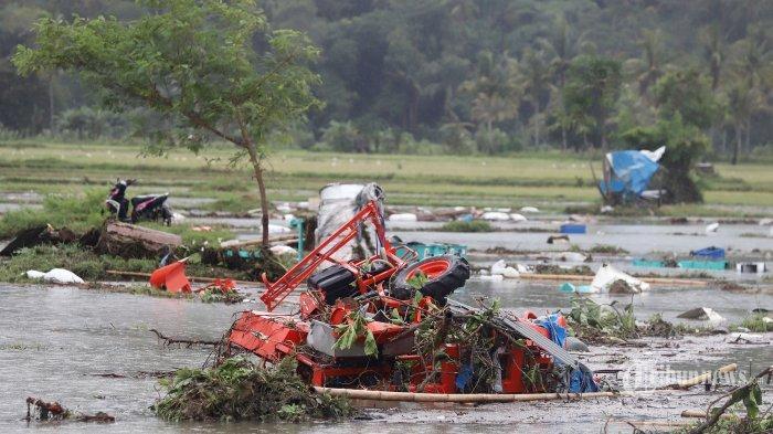46.646 Warga Mengungsi, Bantu Korban Tsunami Lewat Dompet Kemanusiaan Tribunnews.com