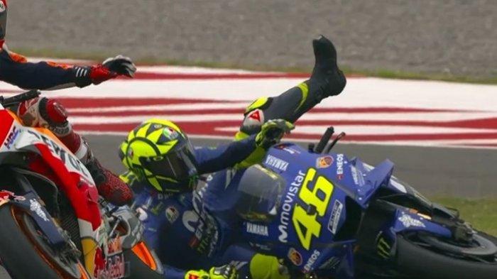 Jatuhkan Valentino Rossi di MotoGP Argentina, Ini Pengakuan Dosa Marc Marquez